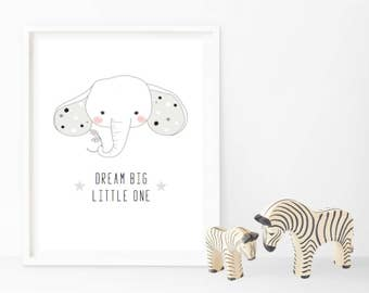 Dream Big Little One - Monochrome - Changeable Characters