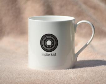 Indie fine bone china mug