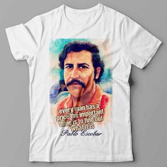 Pablo Audrey Chaque Prix Homme Un T Escobar Shirt A 354AjLRq