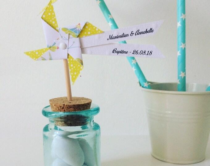 moulin à vent sur pic anis & colibri
