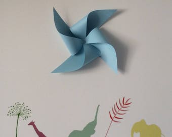 windmill, decorative wall, room decor, baptism, wedding, room child,