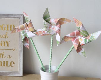 Windmills, pineapple, bapteme, wedding, Deco table