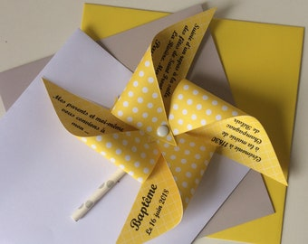 Yellow windmill share