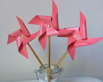 Coral pinwheels