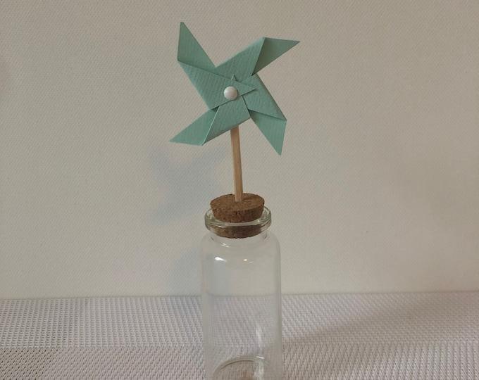 moulin à vent sur pic menthe
