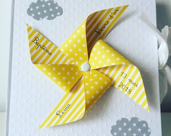 Yellow windmill guestbook