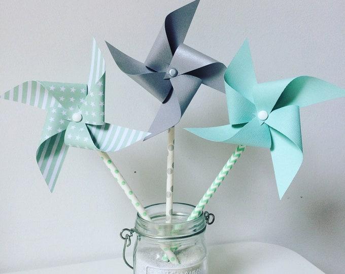 Peppermint pinwheels