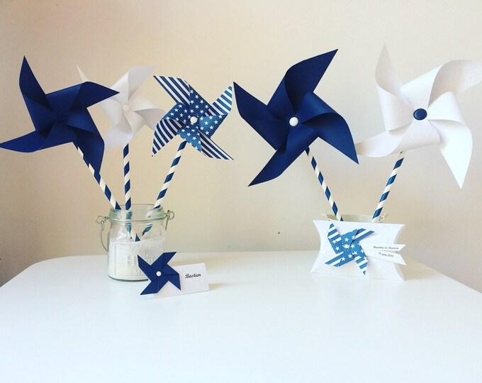 Navy Blue windmills
