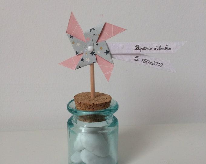 """moulin à vent sur pic """"rose voie lactée"""""""