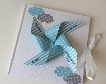 Blue windmill guestbook