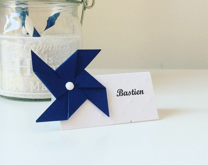 Brand place holder name mill to wind, Blue Navy, baptism, wedding