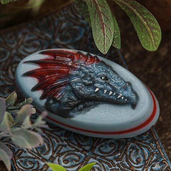Dragon head - plastic soap mold soap making soap mould molds soap mold mm