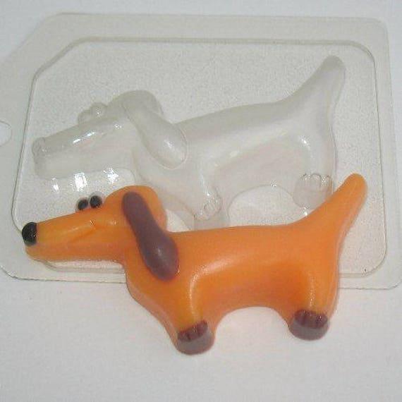 "/""Wolf 3/"" plástico Jabón Molde Molde de fabricación de jabón"