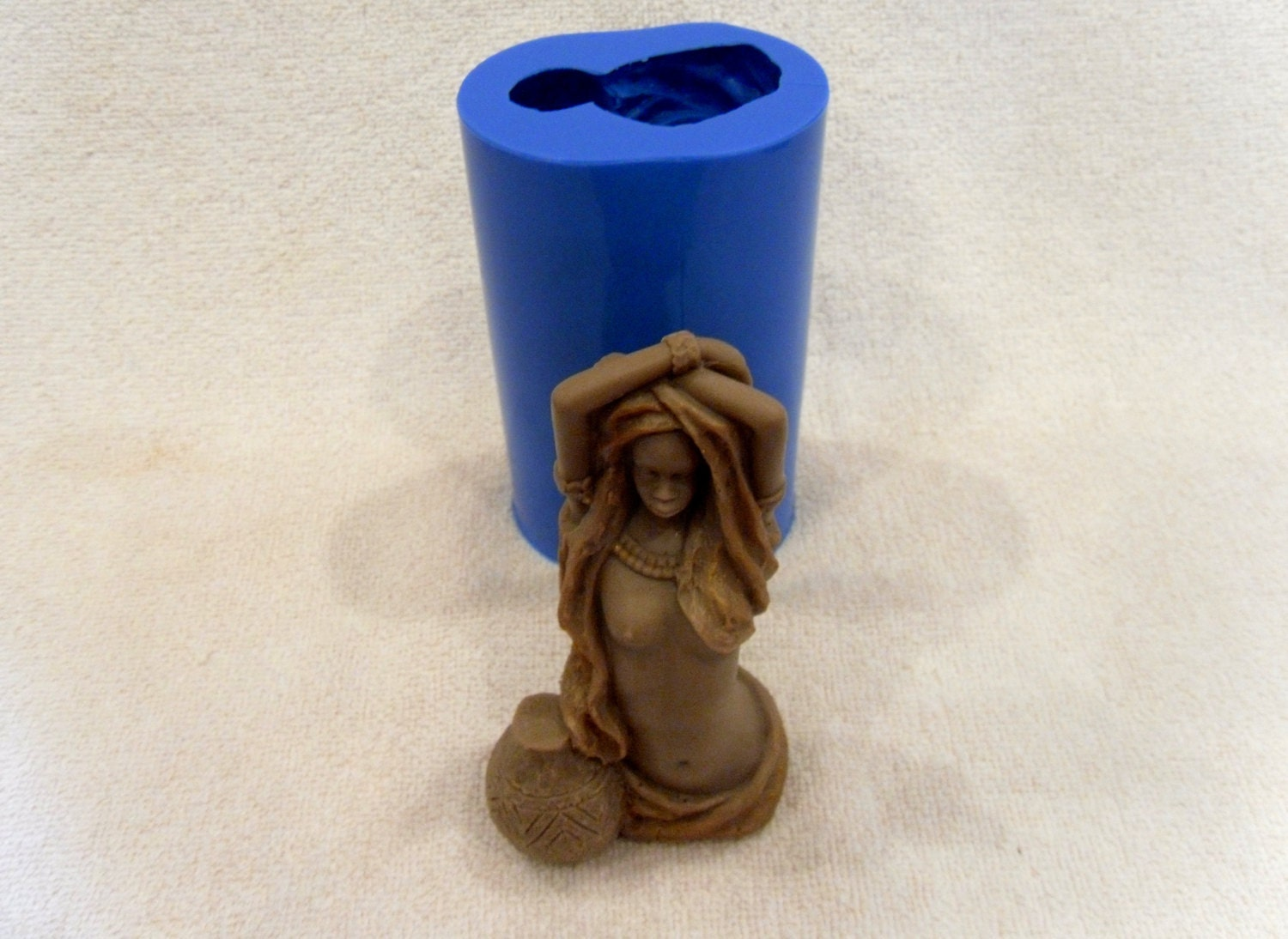 African woman silicone mold for soap and candles making   Etsy