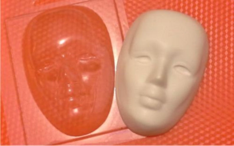 """/""""Face/"""" plastic soap mold soap making mold mould"""