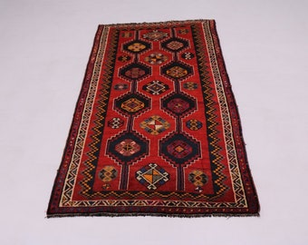 Gorgeous Hand Knotted Tribal Design Shiraz Persian Rug Oriental Area Carpet 5X10