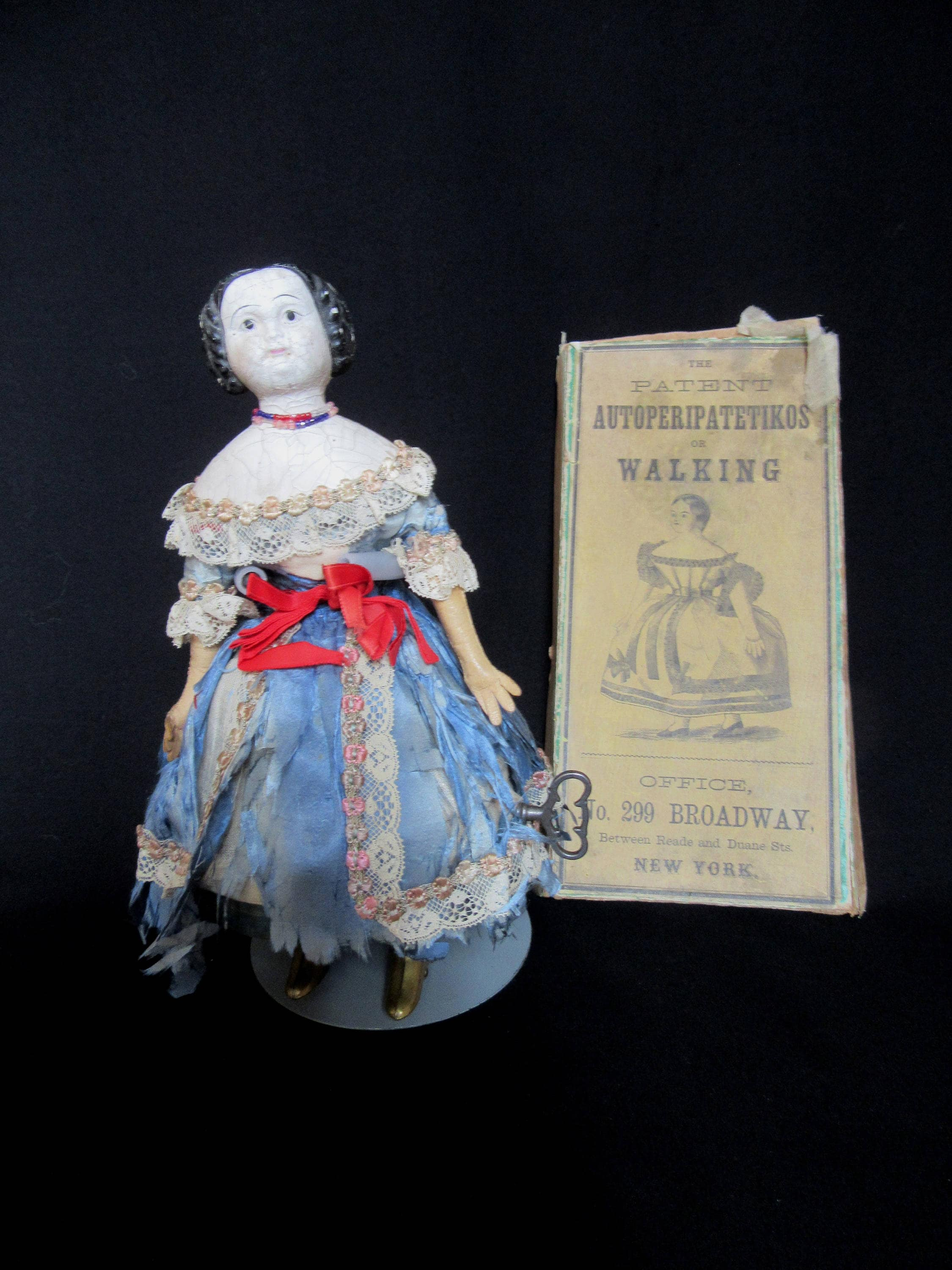 Riding Habit pattern for antique French Fashion doll   #116