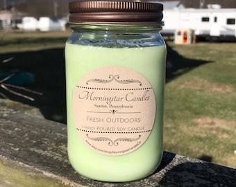 All Natural Soy 16oz. Jar Candles