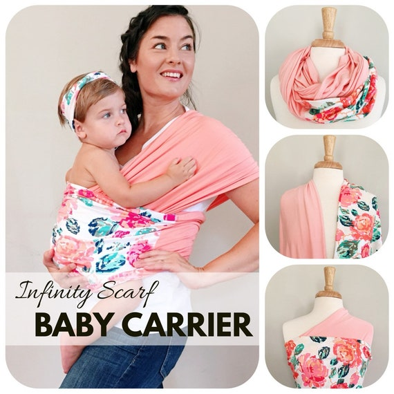 Stretchy Baby Wrap Carrier Papoose Baby Carrier Wrap Infant Etsy