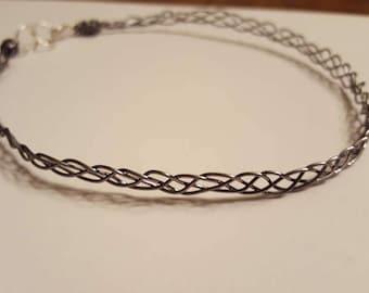 Braided Wire Choker