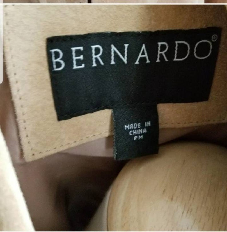 Free shipping! BERNARDO suede jacket