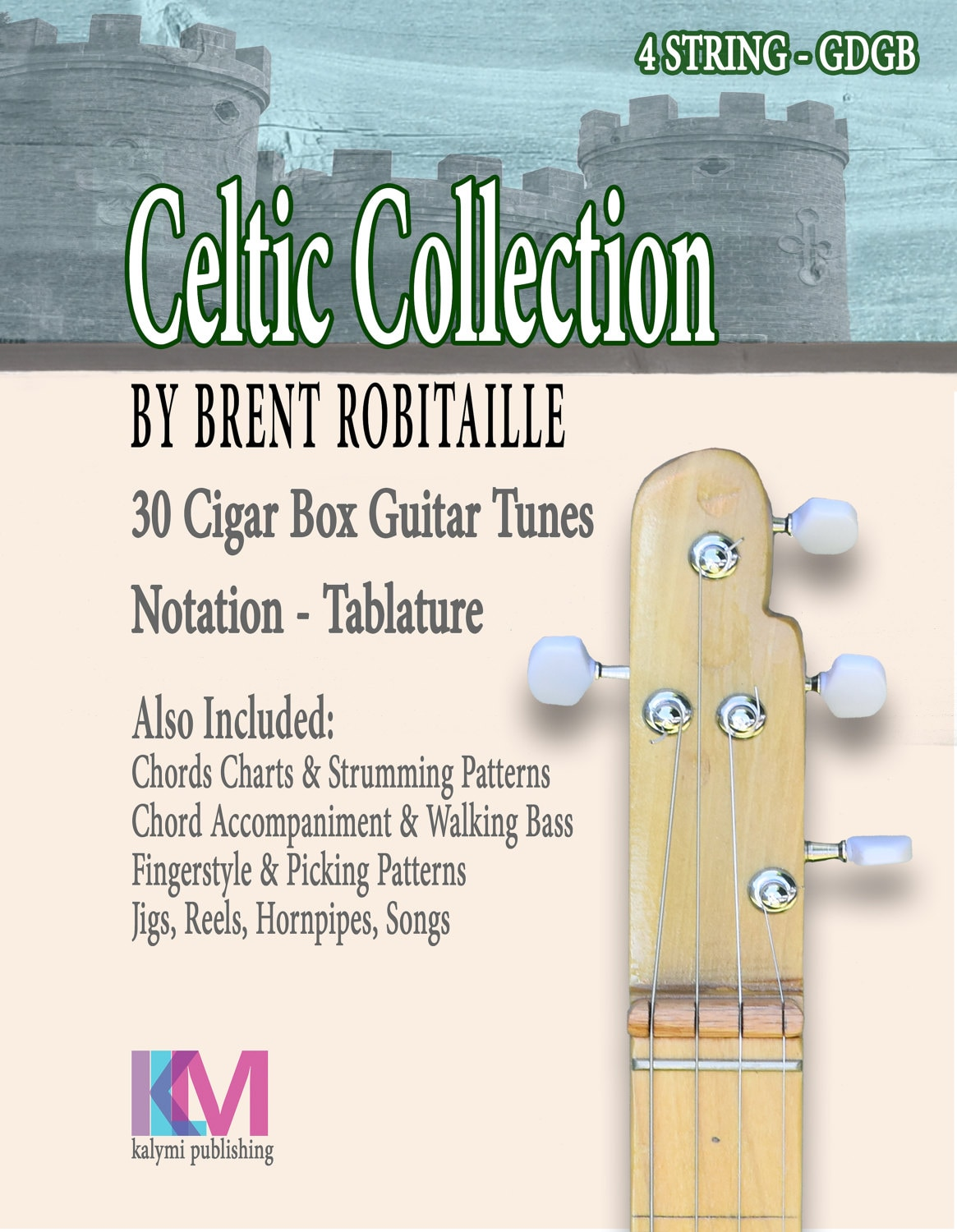 Celtic Collection 30 Tunes For 4 String Cigar Box Guitar Etsy