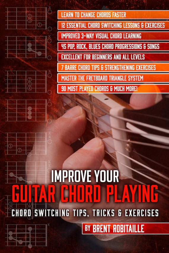 Improve Your Guitar Chord Playing Etsy