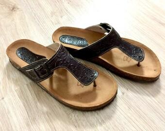 Sandales Pour Hommes Etsy Fr