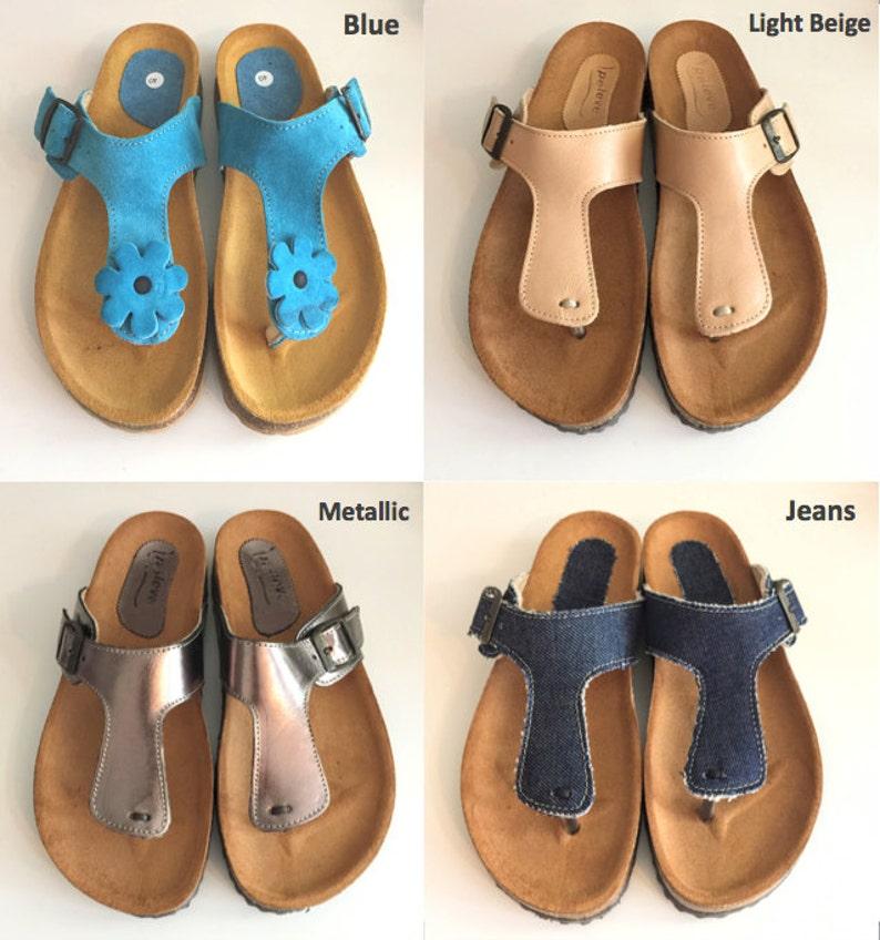 Et D'été En Chaussures Différentes Optimal Sandales Glisse Confortable CuirSemelle Plateforme Original Liège CouleursConfort oCxBde
