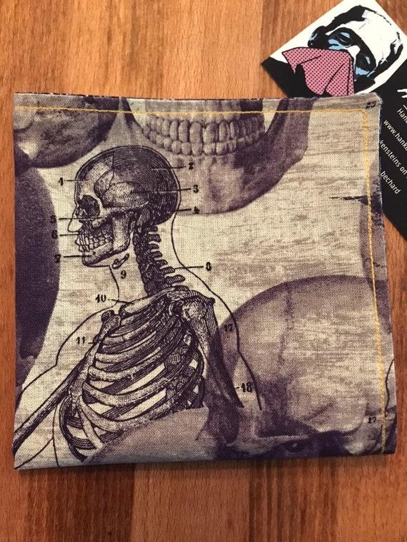Halloween Bones Smart Handkerchief