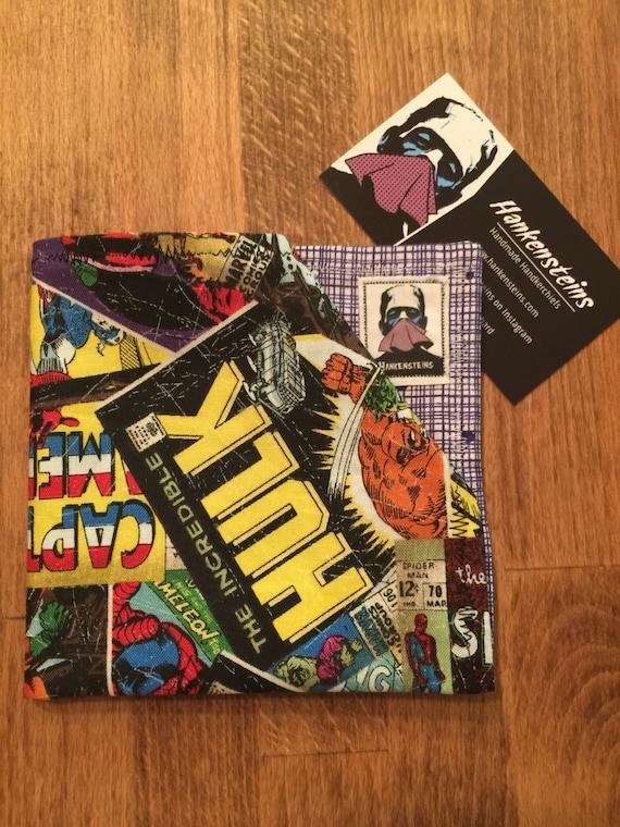 Marvel Comics Geek Smart Handkerchief