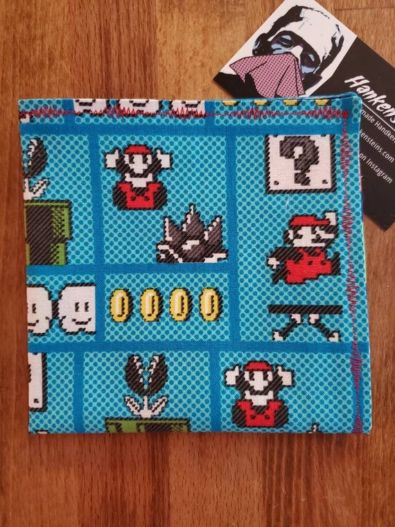 Mario Geek Smart Handkerchief