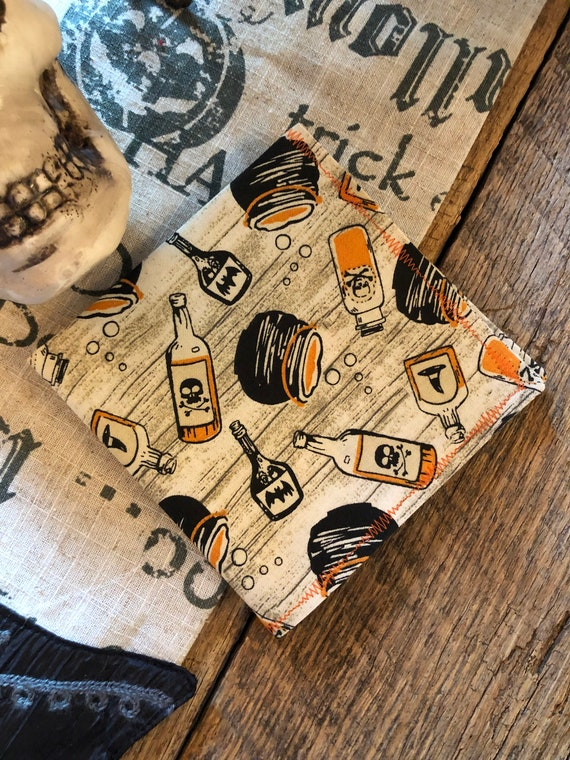 Potions and Pots Halloween Handkerchief