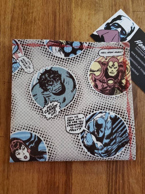 Marvel Bubble Geek Handkerchief