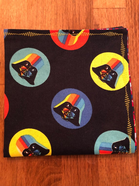 Colorful Darth Vader Star Wars Handkerchief
