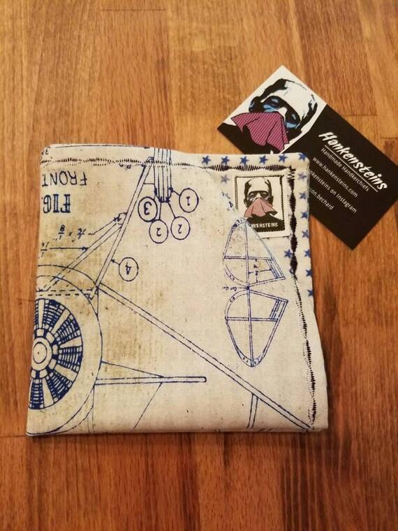 Model Airplane Geek Smart Handkerchief