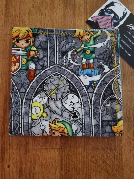 Zelda Stained Glass Link Geek Smart Handkerchief