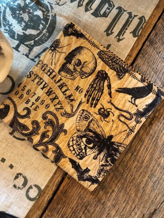 Halloween Ouija Handkerchief