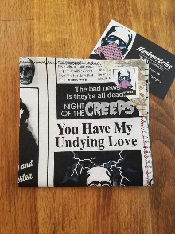 Monster Newspaper Geek Smart Handkerchief