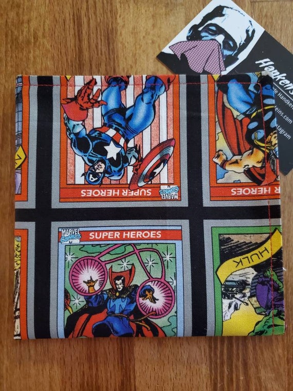 Marvel Trading Card Geek Handkerchief