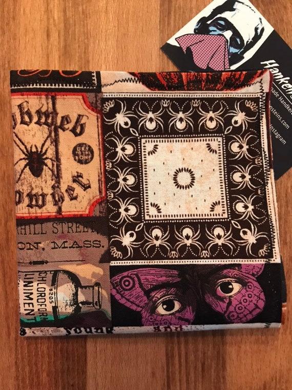 Halloween Scrapbook Smart Handkerchief