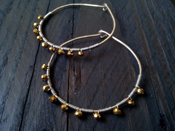 pretty cheap laest technology get cheap Swarovski crystal hoops, swarovski hoop earrings, large hoops, wedding  earrings, bridesmaid earrings, bohemian earrings, wire earrings