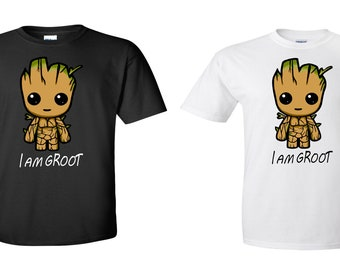Groot, inspired youth shirt, I AM Groot youth T-shirt , groot childrens clothing, groot children's shirt, groot inspired kids T-shirt