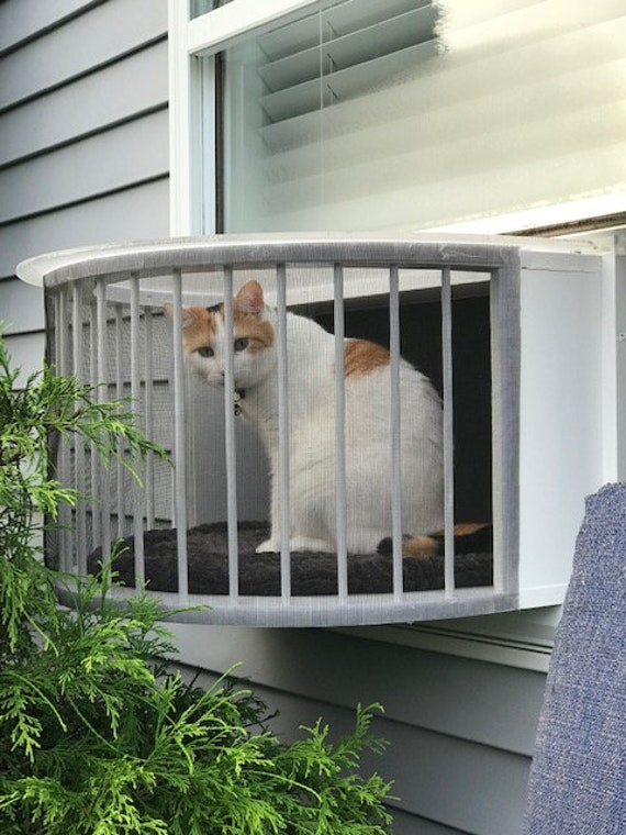 Cat Solarium The Weather Package Cat Window Box Catio Cat