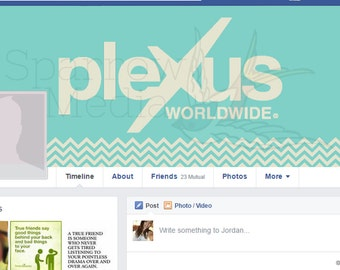 Teal Plexus Facebook Cover