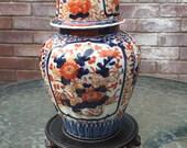 imari vase Meiji period 19th century