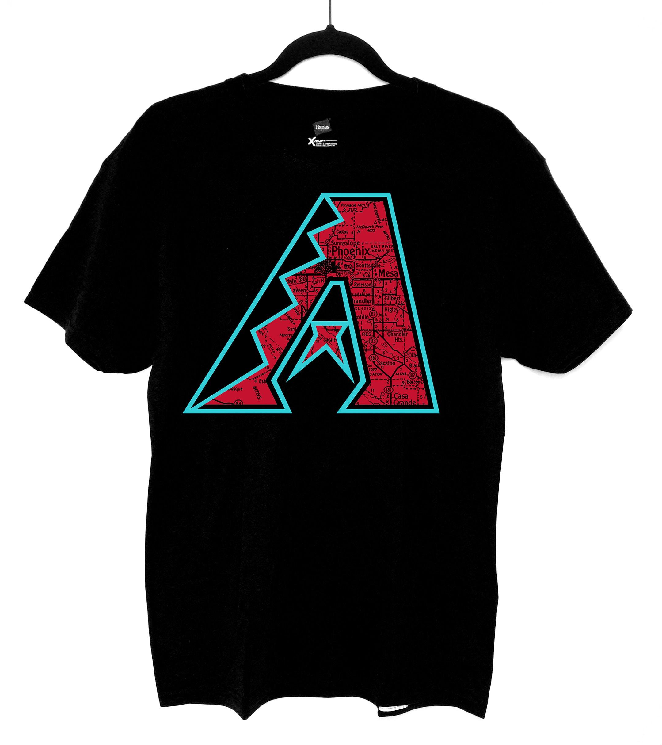 Custom Arizona Diamondbacks Shirt Etsy