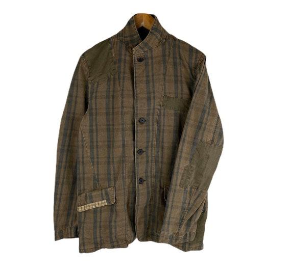 Vintage Woolrich Usa Workwear Denim Jacket Large S