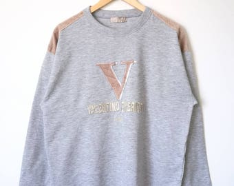 Valentino Christy Sport Paris Sweatshirt Large Size