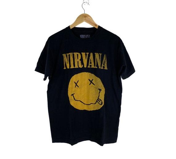Nirvana Smile Tshirt Big Logo